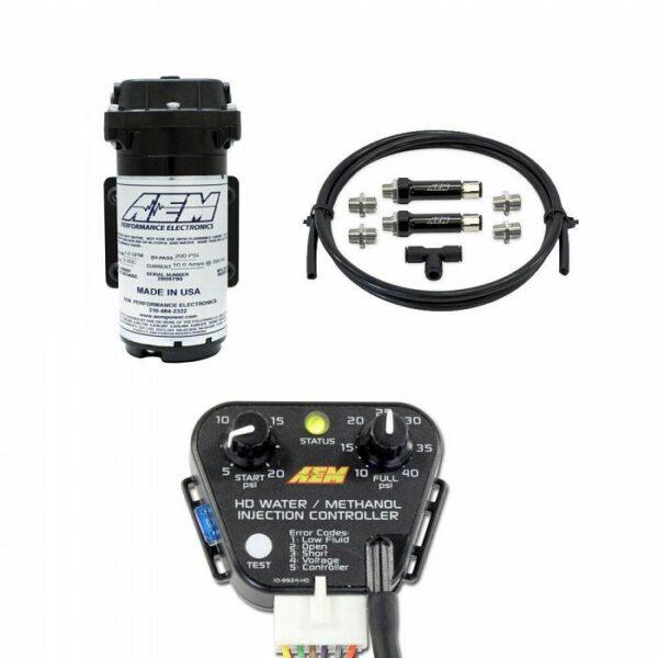 AEM DIESEL WATER/METHANOL INJECTION KIT, FORCED INDUCTION CONTROLLER, NO  TANK - Yakuza Motorsports   Aem Water Methanol Wiring Harness      Yakuza Motorsports